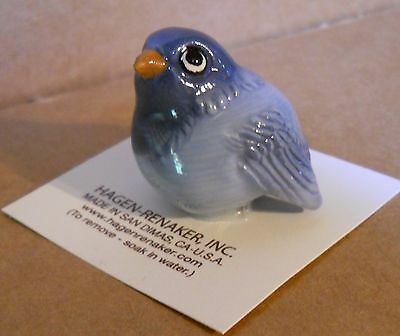 HAGEN RENAKER Collectable Ceramic Miniture BLUE BIRD New Made in the USA