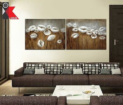 Modern Contemporary Decorative Flowers oil Painting on Canvas