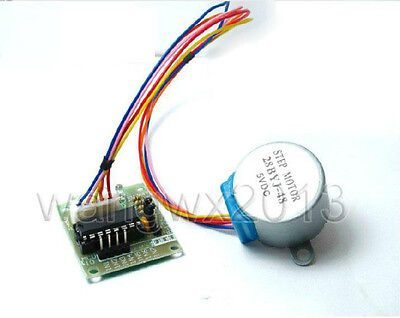 5V 4-Phase 5-Wire Step Stepper Stepping Motor 28BYJ-48 with ULN2003 Driver Board