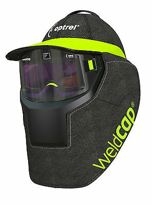 Optrel Radical Auto Darkening Weldcap Helmet With Shade 9-12 And Grinding Mode