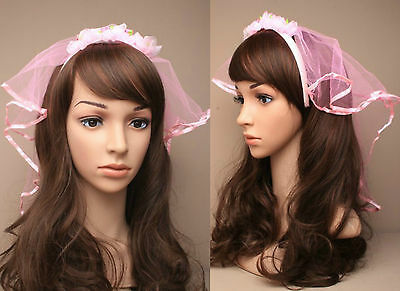 Fancy Dress, HEN PARTY BRIDE TO BE Ivory Veil /& Comb .Classy Wedding.Communion