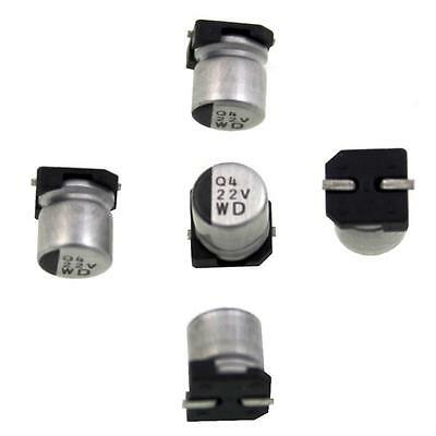 20x SMD Electrolytic Capacitor 22µF 35V 105°C ; UWD1V220MCL1GS ; 22uF