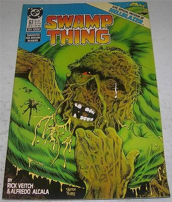 SWAMP THING #67 (DC Comics 1987) HELLBLAZER / CONSTANTINE preview (FN/VF)