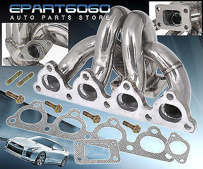 96-00 CIVIC STAINLESS STEEL T3 TURBOCHARGER TURBO MANIFOLD FOR D-SERIES ENGINES