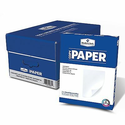 Copy Paper  8-1/2 x 11-1/2  92 Bright 10 Ream Case 5000 Sheets NEW