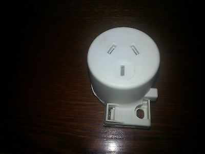 Surface Sockets Quick Connect Plug Base LED  x 10