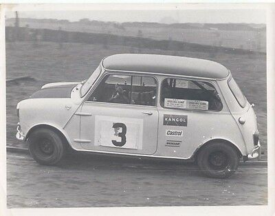 Mini Driven by Pete Stanedge Period Photograph