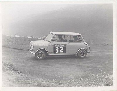 Mini Driven by Stuart France Period Photograph