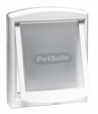 Staywell Petsafe 2 way locking medium dog pet door cat flap white catflap 740