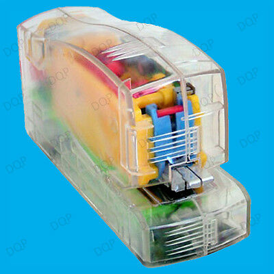 1x Automatic Electric Stapler, Battery Operated Mechanism in Transparent Casing