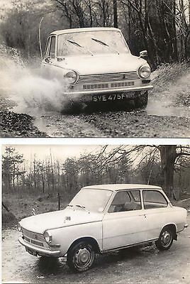 Daf 55  4 Photos circa 1966 of SYE 475F