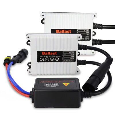 Safego 2X Universal AC 35W Slim Car xenon HID Replacement Ballast conversion kit