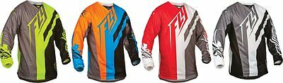 Fly Racing Mens Kinetic Division Jersey