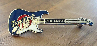 Orlando Live Blue Stratocaster Guitar Hard Rock Cafe Pin