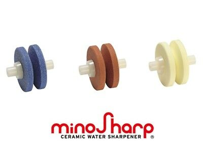 Minosharp Plus 3 Ceramic Wheels Replacement 3 piece set for 550 Series Water Sha