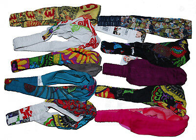 5 Women Cotton Head Band in Multiple Colors and Prints