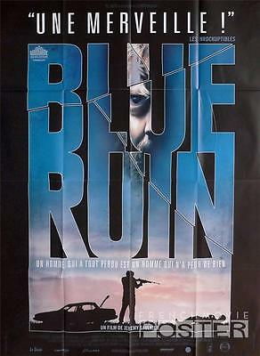 Blue Ruin - Car / Gun - Original Large French Movie Poster