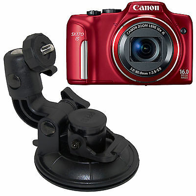 In Car Windscreen Window Suction Cup Mount Holder For Canon Power Shot S Series