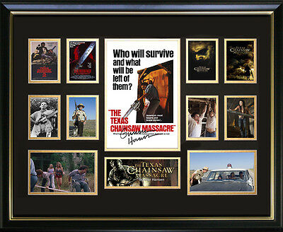 Texas Chainsaw Massacre Signed Framed Memorabilia