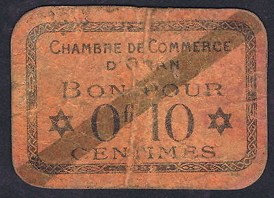 Algeria chambre de commerce 50 centimes 1915 for Chambre commerce france