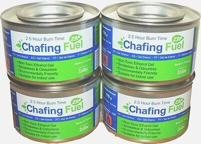 2x Chafing Fuel Smokeless Odourless Non Toxic 2.5 hours each