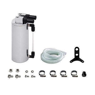 Mishimoto Universal Aluminium Oil Catch Can Kit - Small - Polished