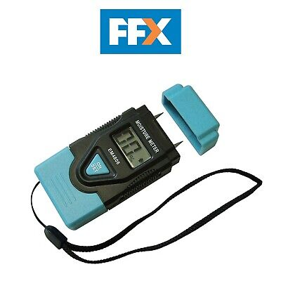 Faithfull EM4806 Damp & Moisture Meter LCD Display