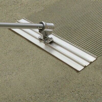 "Kraft Tool Multi-Trac Bull Float Concrete Groover 24"" x 2 1/4"" Spacing w/Bracket"