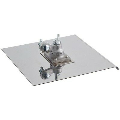 "Kraft Tool Walking Concrete Edger Stainless Steel 10"" x 10"" 12890"