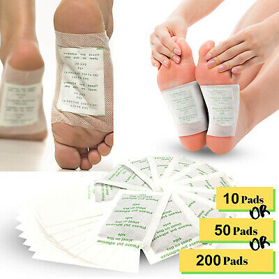 Kinoki Herbal Detox Foot Pads  Detoxification Cleansing Patches USA Shipping
