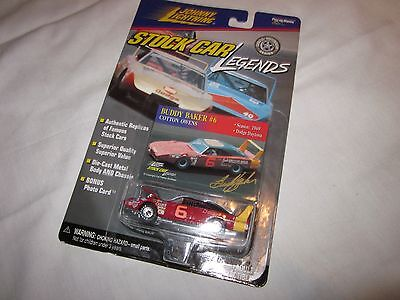 Johnny Lightning Stock Car Legends Buddy Baker #6 in Mint Condition