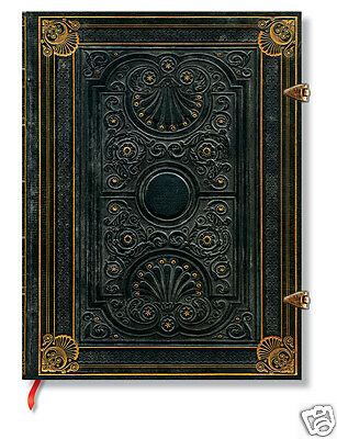 Paperblanks Lined Writing Journal Nocturnelle Dark Brown Ultra Size 7x9 New