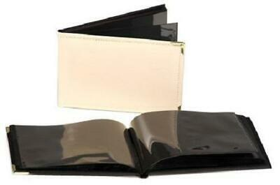 "Pack of 10 6x4"" Ivory Mini Photo Albums Leatherette BULK CLEARANCE"