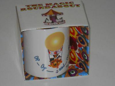 The Magic Roundabout Balloon Ride - Retro Boxed Mug - Brand New Gift in a box