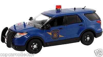 First Response 1/43 2014 Ford Interceptor Utility Michigan State Police