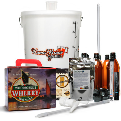 Woodfordes Complete Real Ale Micro Brewery Home Brew Beer Making Starter Kit