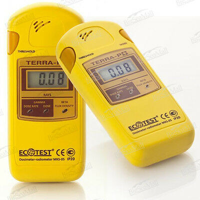 ECOTEST Terra P+ dosimeter-radiometer MKS-05. Efficient Radiation Detector