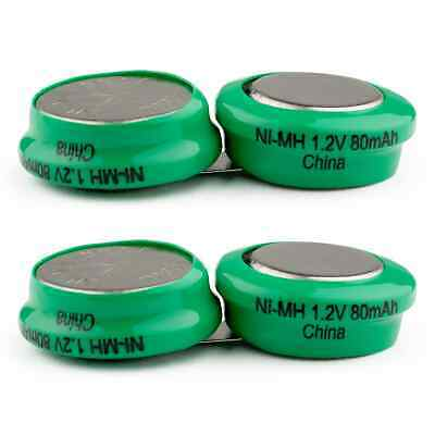 2-PACK Exell Headset Battery for TV EARS 5.0 Rechargeable NiMH Battery
