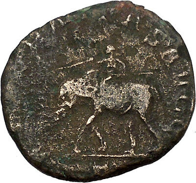PHILIP I the Arab 249AD Sestertius Elephant 1000 Years of Rome Roman Coin i42079