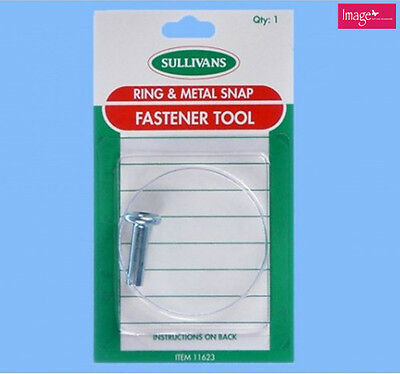 Pack of 12mm Snap Fastener Tool Sewing Accessories Tailoring Items KD31623
