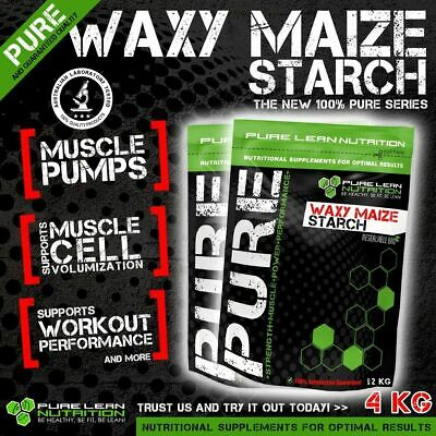 4 Kg Waxy Maize Starch Unflavoured Carbs Carbohydrate Dextrose Energy Vitargo