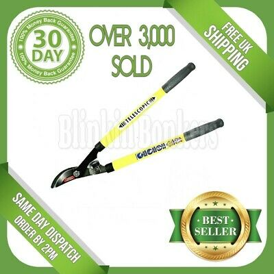 Telescopic Long Handle Lopper Extend Garden Tree Branch Bypass Pruner Cutter 37A