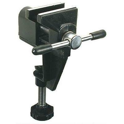 "Clamp On Bench Vise 1 1/4"" Workshop Hobby Craft Jewelers Jewelry Repair Tool"