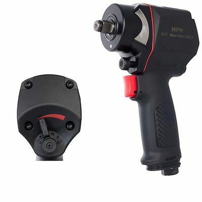 """1/2"""" Mini impact wrench 1010 Nm 1.3kg Composite Compressed air"""