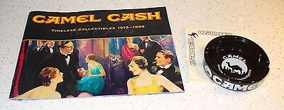 98' CAMEL CASH Catalog paired w/ a Collectible Ashtray & 4 Collectible Napkins!