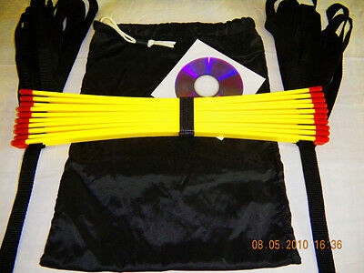 Speed training agility ladder 17 ft Sports  free training DVD 34 drills on it