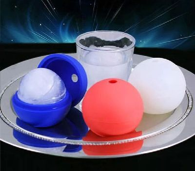 Mini Creative Soft Silicone Big Ice Ball Maker Mold Sphere Large Tray Whiskey BB