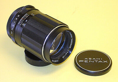 Asahi Pentax Super-Multi-Coated Takumar 135mm 1:3,5  in extremely good condition