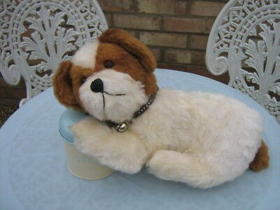 Antique Straw filled Soft Toy Dog from 1940/50's