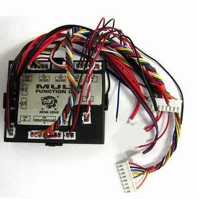 New Rx 18 Board Multifunction For Heng Long Radio Control Rc Tanks Genuine Part